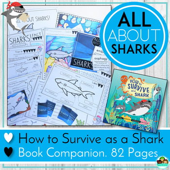 Sharks! How to Survive as a Shark Book Companion