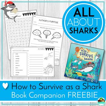 Sharks! How to Survive as a Shark Book Companion Freebie