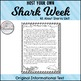 All About Sharks with Informational Texts and Shark Week Activities