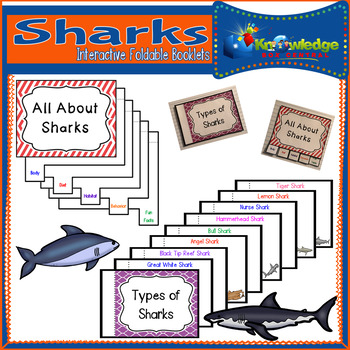 Sharks Interactive Foldable Booklets