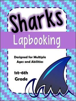 Sharks Interactive Lapbook unit (Multi-age / Multi-level)