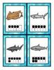 Sharks Math Scavenger Hunt:  Numerals, Ten Frames, Countin