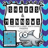 Sharks & Minnows FREEBIE {A Predator & Prey Math Game}