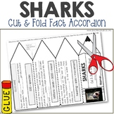 Sharks Nonfiction Facts Foldable Accordion