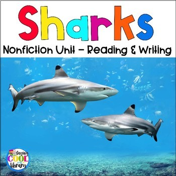 Sharks - Nonfiction Task Cards and Worksheets