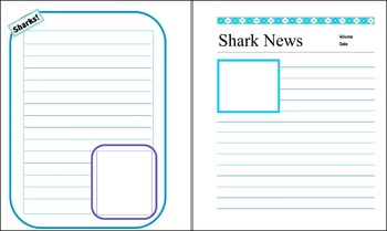 Sharks! Notebooking / Project pages