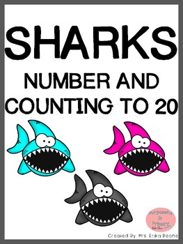 Sharks! Numbers and Counting to 20