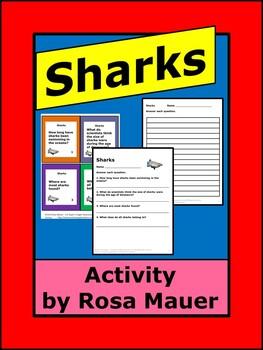 Sharks Science Task Cards