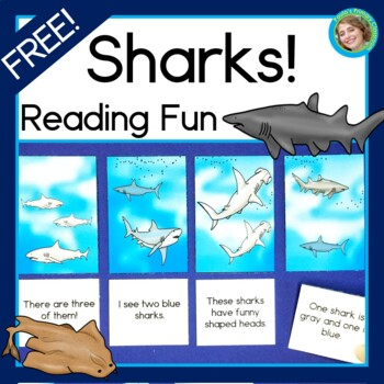 Sharks! Reading Fun Reading Center