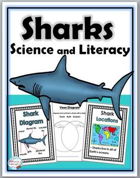 Sharks Science and Literacy  - Sharks Unit -  Sharks Literacy