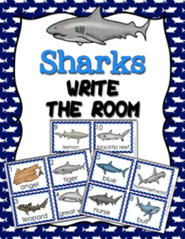 Sharks Write the Room