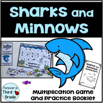 Sharks and Minnows - Multiplication Game