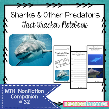 Sharks and Other Predators Fact Tracker Research Guide