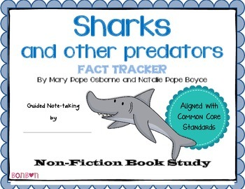 Sharks and other predators - MTH Fact Tracker
