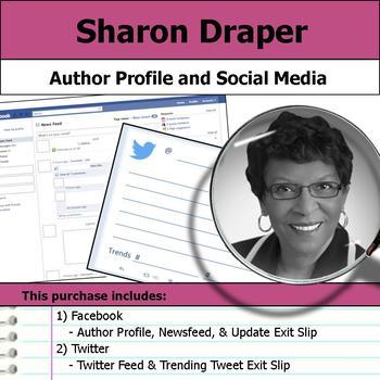 Sharon Draper - Author Study - Profile and Social Media