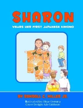 Sharon Wears her First Japanese Kimono