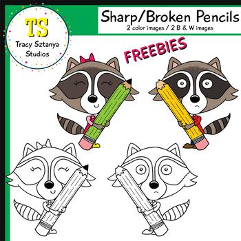 Sharp/Broken Pencils FREEBIE {Tracy Sztanya Studios}