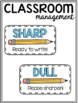 Sharp/Dull Pencil Labels