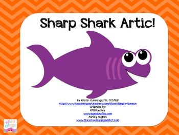 Sharp Shark Articulation FREEBIE