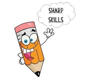 "Sharp Skills-long and short ""e"" file folder game"