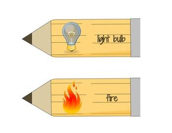 "Sharp Skills-long and short ""i"" file folder game"