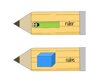 "Sharp Skills-long and short ""u"" file folder game"