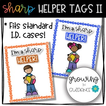Sharp Student Helper Tags