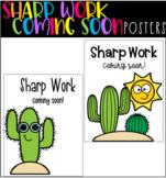Sharp Work Coming Soon!