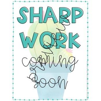 Sharp Work- Student Work Display
