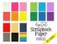 Sharpened Pencils (Scrapbook Paper and Digital Backgrounds)