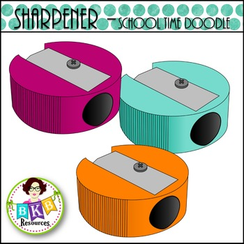 Sharpener - School Time Doodle {Graphics for Commercial Use}