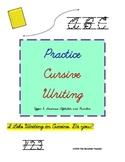 Sharpening Cursive Writing