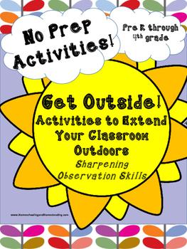 NO PREP! Get Outside: Sharpening Observation Skills