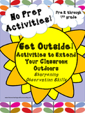 NO PREP! Get Outside: Sharpening Observation Skills