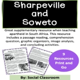 Sharpeville Massacre and Soweto Uprising: Apartheid Resources