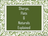 Sharps Flats and Naturals Explained