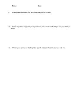 Shattered Ground - David Suzuki - Video Worksheet