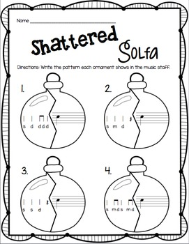Shattered Solfa: A Stick-to-Staff Notation Game {Do}