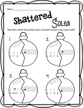 Shattered Solfa: A Stick-to-Staff Notation Game {Re}