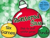 Shattered Solfa: Stick-to-Staff Notation Games {6-Game Bundle}