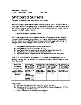 Shattered Sunsets