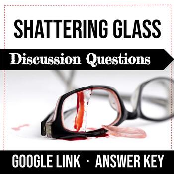 Shattering Glass by Gail Giles Discussion Questions