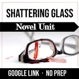 Shattering Glass by Gail Giles Unit Bundle