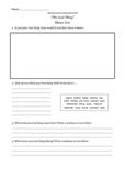 Shaun Tan - The Lost Thing Activity Sheets