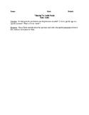 Shaving - Comprehensive Study Guide - CCSS Aligned