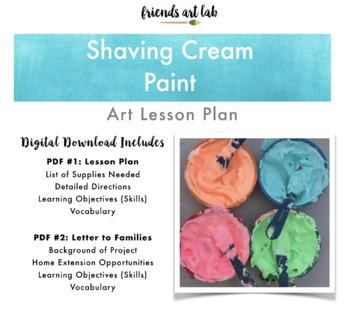 Shaving Cream Paint (DIY, Process Art, Sensory)