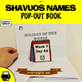 Shavuos Names Pop-Out Book!