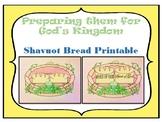 Shavuot Bread Basket