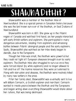 Shawnadithit