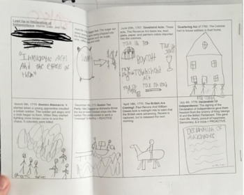 Shay's Rebellion Comic Strip